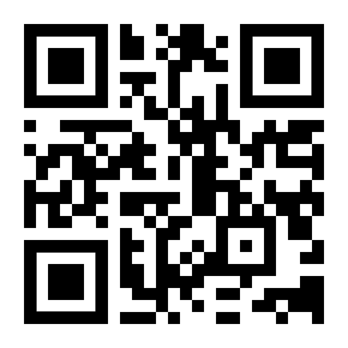 QR-Code zum einscannen mit dem Smartphone